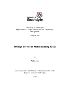 Phd thesis in strategic management