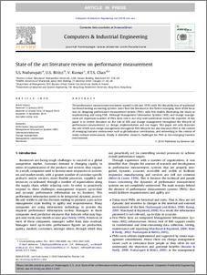 literature review on performance measurement and management