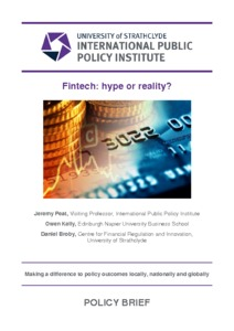 Fintech : Hype or Reality? - Strathprints