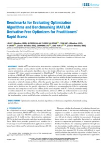 Benchmarks for evaluating optimization algorithms and